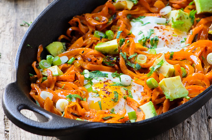 Meatless Monday: Chipotle Spiced Sweet Potato Noodles